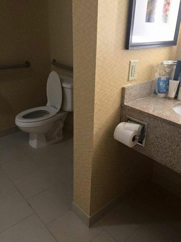 Widzieliśmy już gorsze łazienki (dosłownie przed paroma sekundami)