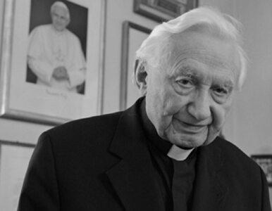 Nie żyje brat Benedykta XVI. Papież senior odwiedził ks. Ratzingera...