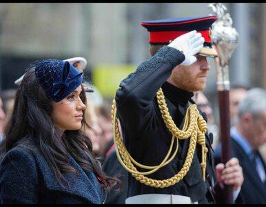Meghan i Harry uczcili pamięć poległych żołnierzy.  To debiut księżnej
