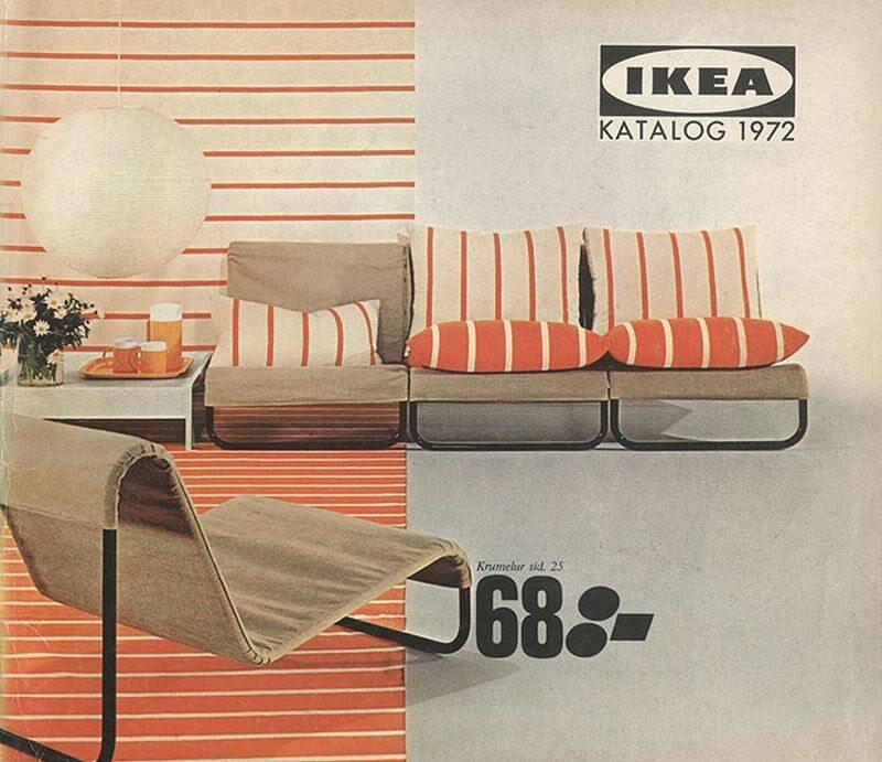 Okładka katalogu IKEA z 1972 roku
