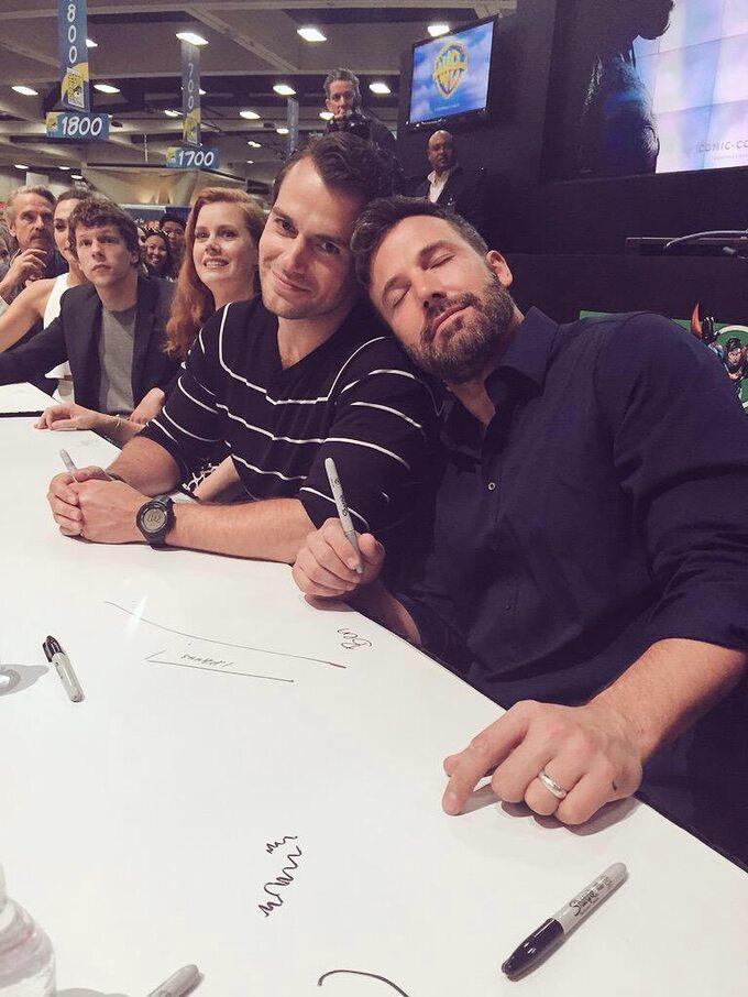 Comic-Con -Batman v Superman: Dawn ofJustice -aktorzy