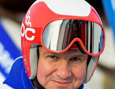 """Duda weźmie udział w narciarskim maratonie, opozycja krytykuje. """"Nasz..."""