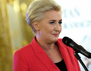Agata Kornhauser-Duda przekazała naszyjnik na licytację. Chce wesprzeć...