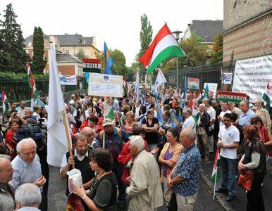 Armenia: rozwścieczeni manifestanci spalili węgierską flagę