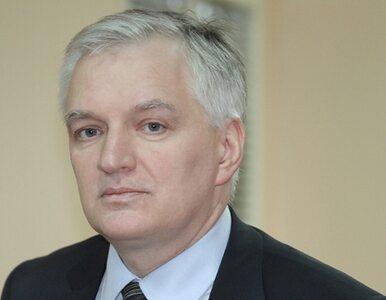 Jarosław Gowin usunięty ze stanowiska