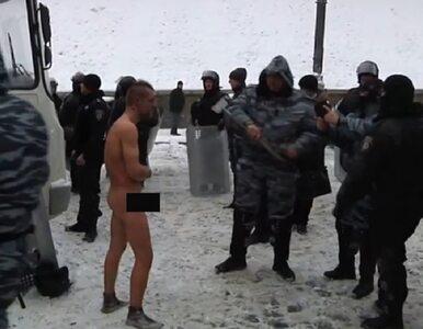 Szokujące nagranie brutalności Berkutu [18+]