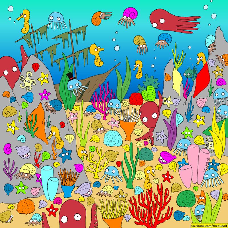 Dno oceanu. A gdzie ryba?