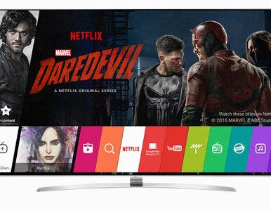 Netflix rekomenduje telewizory LG