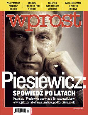Okładka tygodnika Wprost nr 29/2011 (1484)