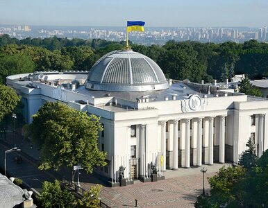 Parlament Ukrainy zagłosował za przyjęciem rezygnacji premiera