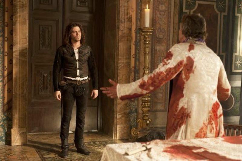 W serialu Rodzina Borgiów w rolę papieża Rodrigo Borgii wcielił się: