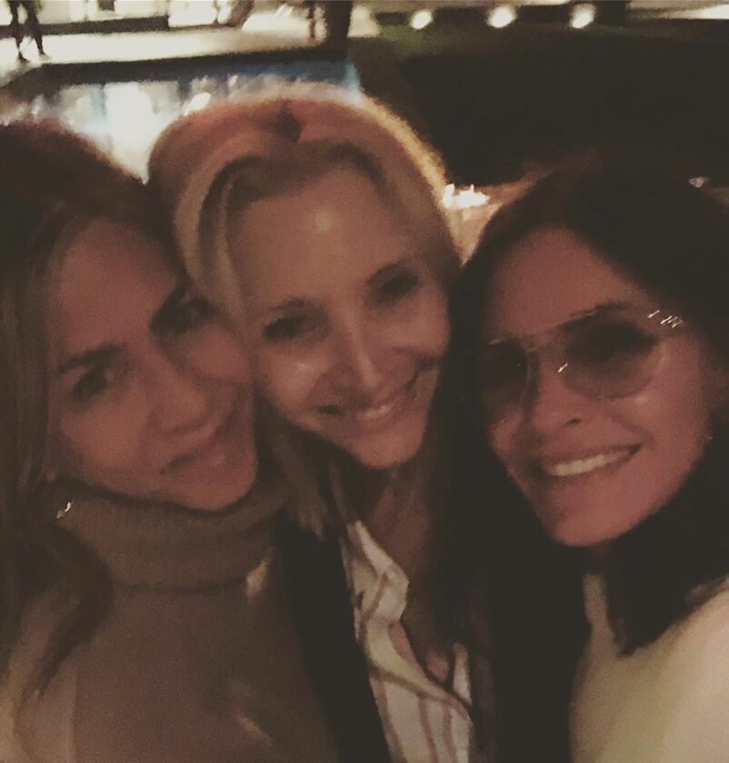 Jennifer Aniston, Lisa Kudrow i Courtney Cox