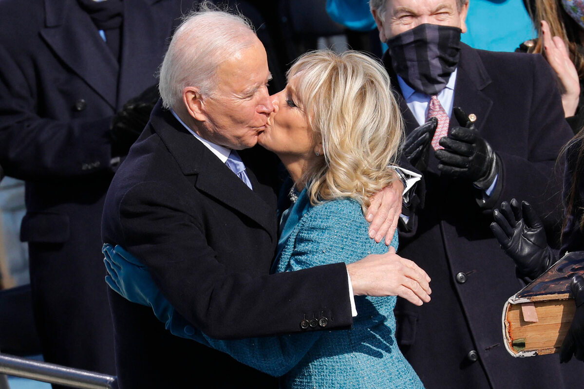 Zaprzysiężenie Joe Bidena. Tak wyglądały Jill Biden i Kamala Harris