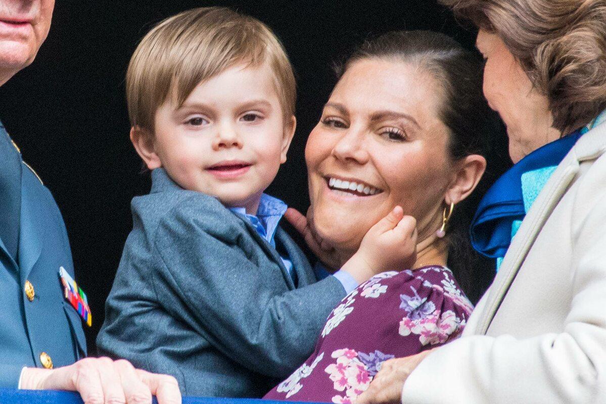 Księżniczka Wiktoria z synem Oskarem