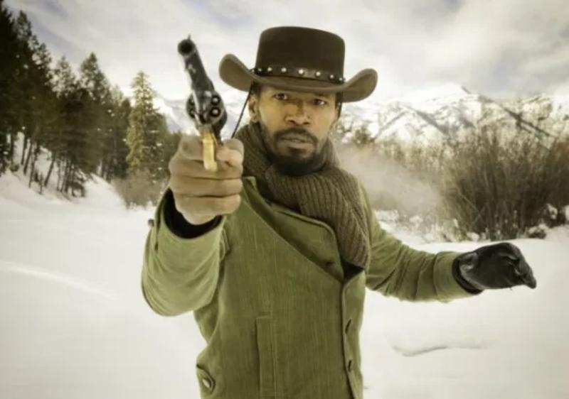 """To kadr z filmu """"Django"""". Bohater ze zdjęcia nazywa się:"""