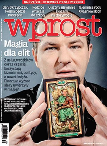 Okładka tygodnika Wprost nr 35/2014 (1643)