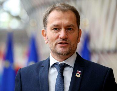 Sesja słowackiego parlamentu przerwana, zakazili się posłowie. Premier...