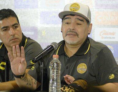 Diego Maradona trafił do szpitala. Miał krwotok wewnętrzny