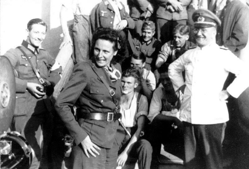 Do Polski trafiła też reżyserka propagandowych filmów Leni Riefenstahl