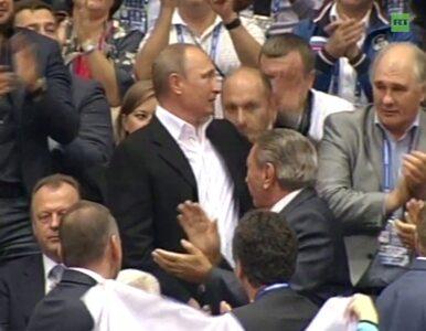 Putin obejrzał mistrzostwa świata w judo. Owacja na stojąco