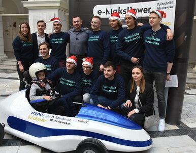 Studenci Politechniki Warszawskiej zbudowali bolid dla niepełnosprawnego...