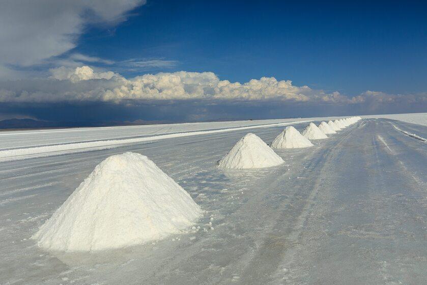 Sól z Salar de Uyuni w Boliwii
