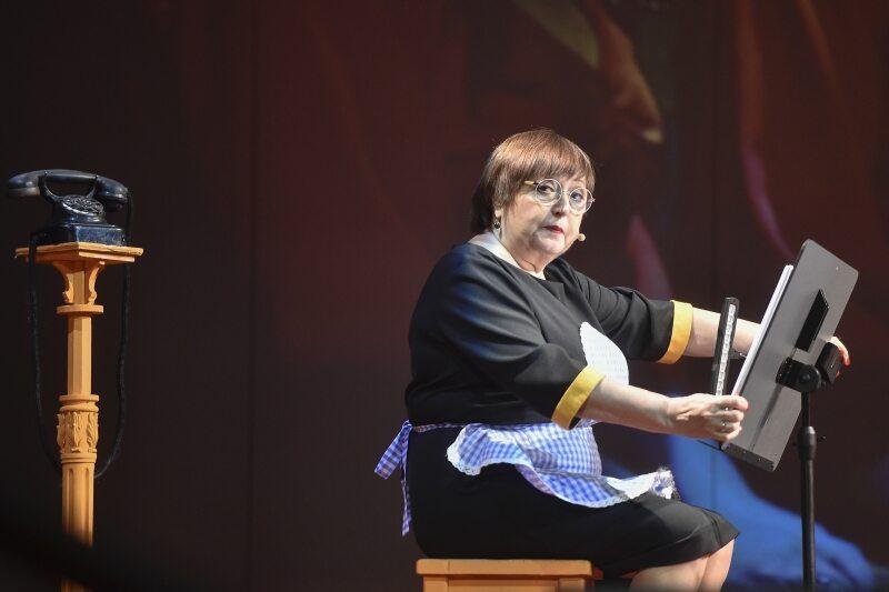 Krystyna Tkacz w roli Doroty Węgorzewska w roli Węgorzewskiej