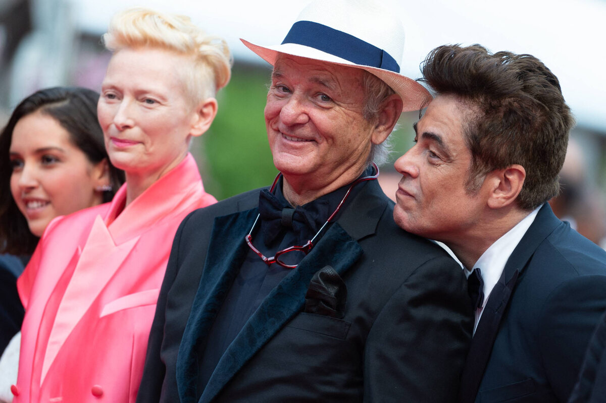 Lyna Khoudri, Tilda Swinton, Bill Murray i Benicio Del Toro