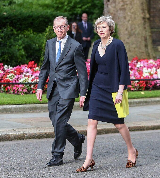Theresa May zmężem Philipem