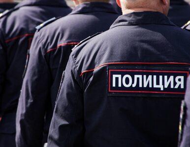 Rosja. Protest przeciwników obowiązkowych szczepień. Interweniowała policja