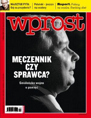 Okładka tygodnika Wprost nr 30/2010 (1433)