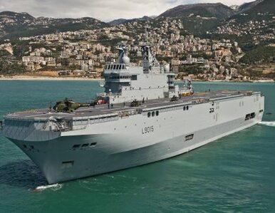 Francja nie dostarczy okrętów wojennych? Rosja: będą konsekwencje
