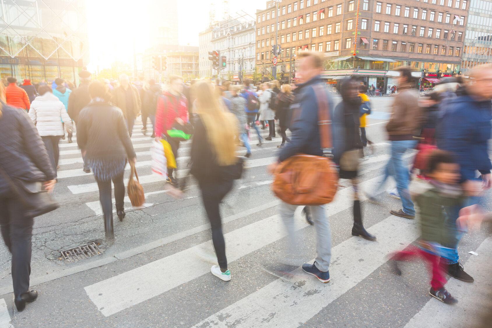 Tłum ludzi, zdjęcie ilustracyjne