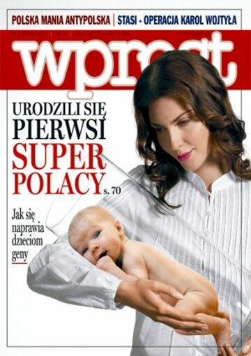 Okładka tygodnika Wprost nr 4/2007 (1257)