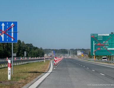 Nadchodzą utrudnienia na A2 między Łodzią a Warszawą. Rozbudowa pasa...