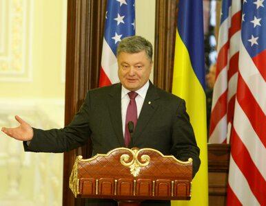 """Poroszenko odpowiada na zarzuty Putina. """"To fantazje i pretekst do..."""