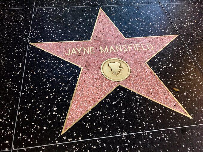 Gwiazda Jayne Mansfield wHollywood