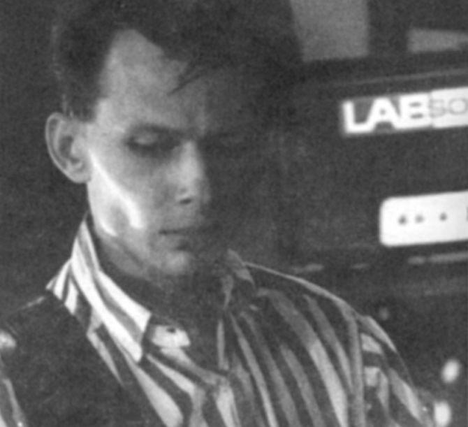 """Rafał """"Włoczu"""" Włoczewski, gitarzysta T. Love (fot. arch. zespołu)"""