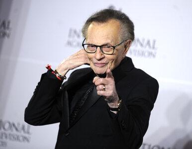 Legendarny dziennikarz Larry King trafił do szpitala. Jest chory na...
