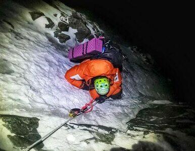 """Gorzkowska ewakuowana z K2. """"Zaczęłam zwracać wszystko, włącznie z wodą"""""""