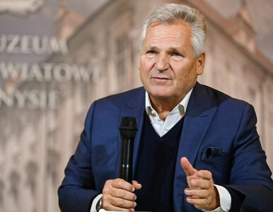 """Aleksander Kwaśniewski: """"Wyrazistych liderów na Białorusi nadal brakuje"""""""
