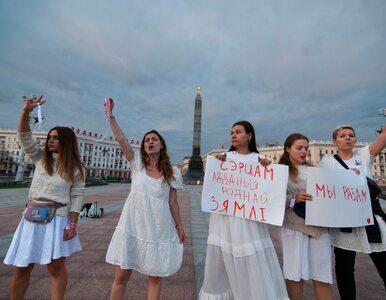 Świat się burzy, Białorusinki protestują w bieli. Grybauskaite:...