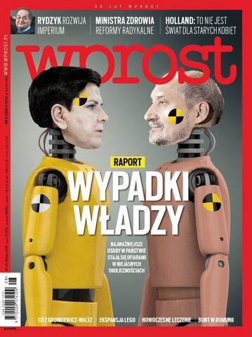 Okładka tygodnika Wprost nr 8/2017 (1775)