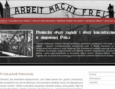 IPN edukuje: obozy śmierci stworzyli Niemcy