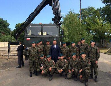 Andrzej Duda na ceremonii zmiany dowódcy Korpusu NATO w Szczecinie