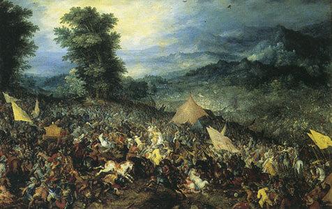 1 października 331 p.n.e. Bitwa pod Gaugamelą (czasami nazywana również bitwą   pod Arabelą). Starcie pomiędzy wojskami macedońskimi Aleksandra Wielkiego a  armią perską króla Dariusza III.