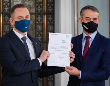 """Lewica poparła wniosek KO o odwołanie Kaczyńskiego. """"Jedność opozycji..."""