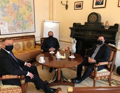 Spotkanie Duda - Kukiz. Politycy rozmawiali o jednej z obietnic...