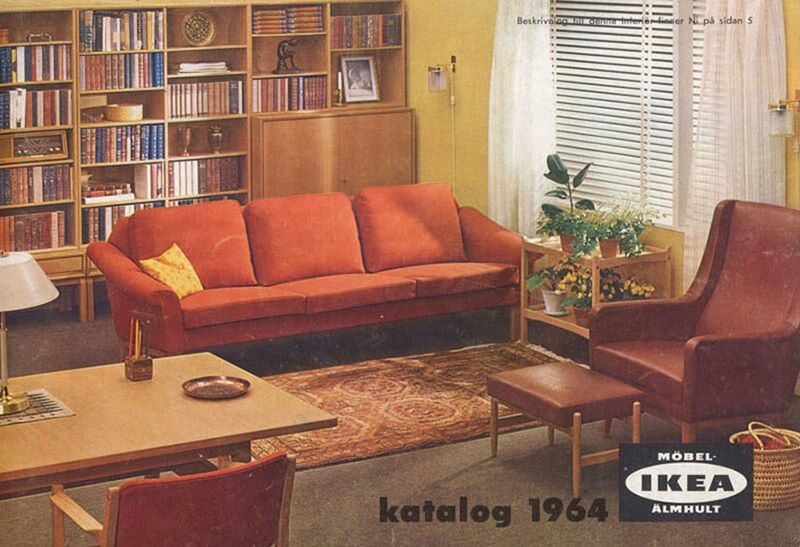 Okładka katalogu IKEA z 1964 roku