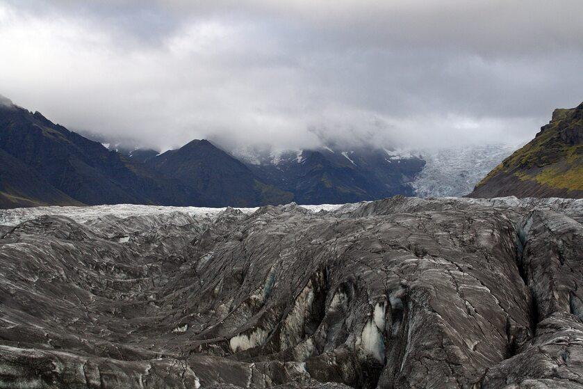 Wulkan Grímsvötn podczas erupcji z 2011 roku